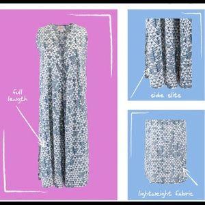 LuLaRoe Jackets & Coats - LuLaRoe Joy long duster vest